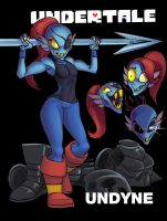 Undyne sml by tran4of3