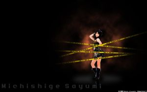 MoMusu MichishigeSayu WP11wide by tanaka13