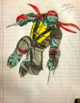Raphael (2012/2016) by SpiderDetentionaire