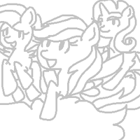 Pony Commissions Sketch. by ClassicAmy