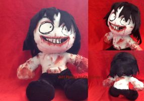Jeff the Killer Plush V2 FOR SALE by Chanditoys