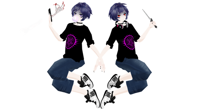 Casual Akuma Design by ProjectYandere