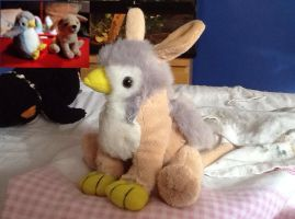 ProjectGRYPHON: Puppy / Penguin Gryphon by ProjectOWL