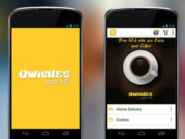 QWICHES MOBILE APP Mobile apps for home delivery o by ellendavis09