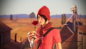 Red Rose by DarknessRingoGallery