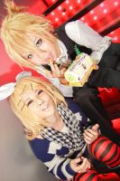 Vocaloid Birthday - Rin Len by Xeno-Photography