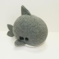 Stanley the Shark by Heartstringcrochet