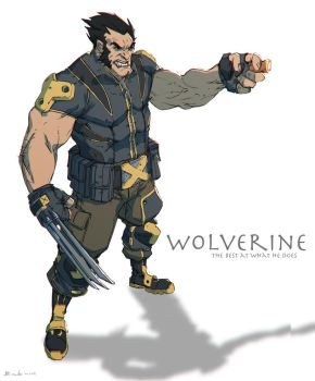 Wolverine by Colorbind