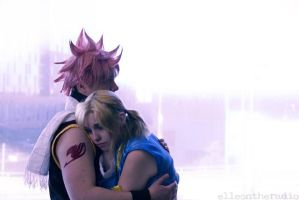 Natsu and Lucy-Fairy Tail by dendensushi