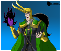 Avengers EMH - Loki God of mischief by The-GreenGoblin