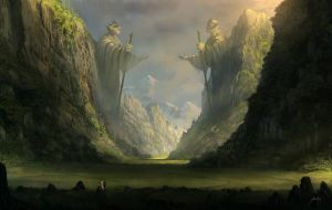Through the ancient valley by JJcanvas