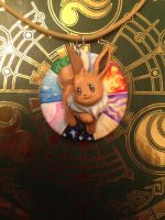 Eevee Pendant - Endless Possibilities by Gatobob