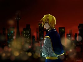 kurapika by Curayukie