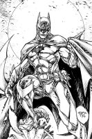 Batman dark inks by pant