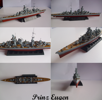 German heavy cruiser Prinz Eugen by Teratophoneus