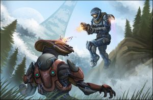 Halo Reach : Invasion by leywad