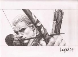Legolas of the Woodland Realm by LegendofFullmetal