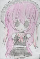 my new oc claire by lostgirl111