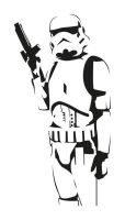 Badass Stormtrooper Vector by NotMyGod