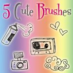 Cute Brushes by AnotherLiife