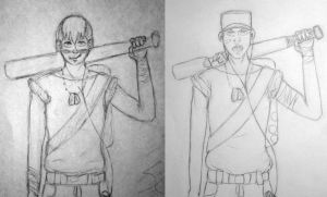 Scout: before and after by JaneenBeans