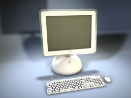 Apple iMac G4 by distturbed