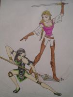 Zaria and Zelda by DarthJader11