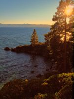 Secret cove sunset by MartinGollery