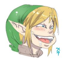 Link Pervert Face by ManiacPaint
