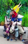 Jak and Daxter Keira cosplay Phoenix Comicon 2013 by Abydell
