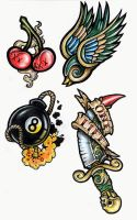 Flash Sheet. 1. by tjiggotjurring