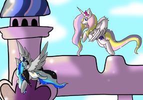 -PC- Time and Space by Queenlugia