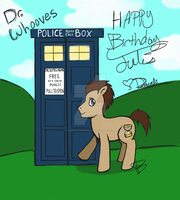 Dr. Whooves by DementedDannie