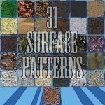 31 Seamless Surface Patterns for Photoshop by xDustyx
