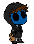Eyeless Jack Doll by DerseDragon