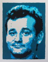 Bill Murray by kylekylecrocadile