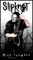 Mick Thomson by Hellknight10