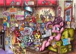 Sittn' Time by megaphonnic