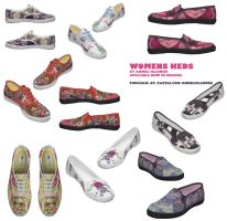 womens Keds designs by OhAnneli