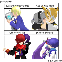 Vocaloid KissMeme Yaoi Version by FantasyRancia