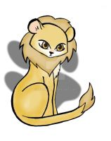 Cute Lion by rockgem