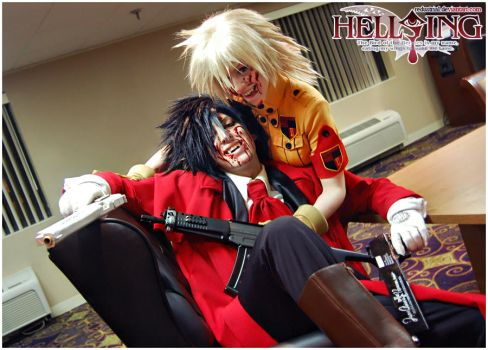 Hellsing Cosplay: We're in this Together by Redustrial-Ruin