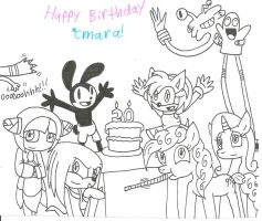 happy birthday cmara by cmara