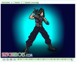 How to draw Zack Fair Part 3 by SketchHeroes