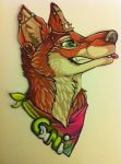 Cami badge commission by nightspiritwing