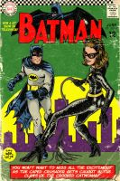 Batman and Catwoman by markwelser