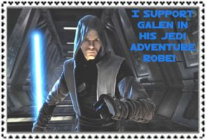 Jedi Adventure Robe stamp by Grizzled-Dog
