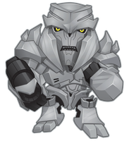 Transformers Megatron Full Mini copy by BurningEyeStudios