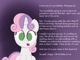 PC Sweetie Belle's Birthday by postcrusade
