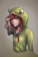frog girl by anni28